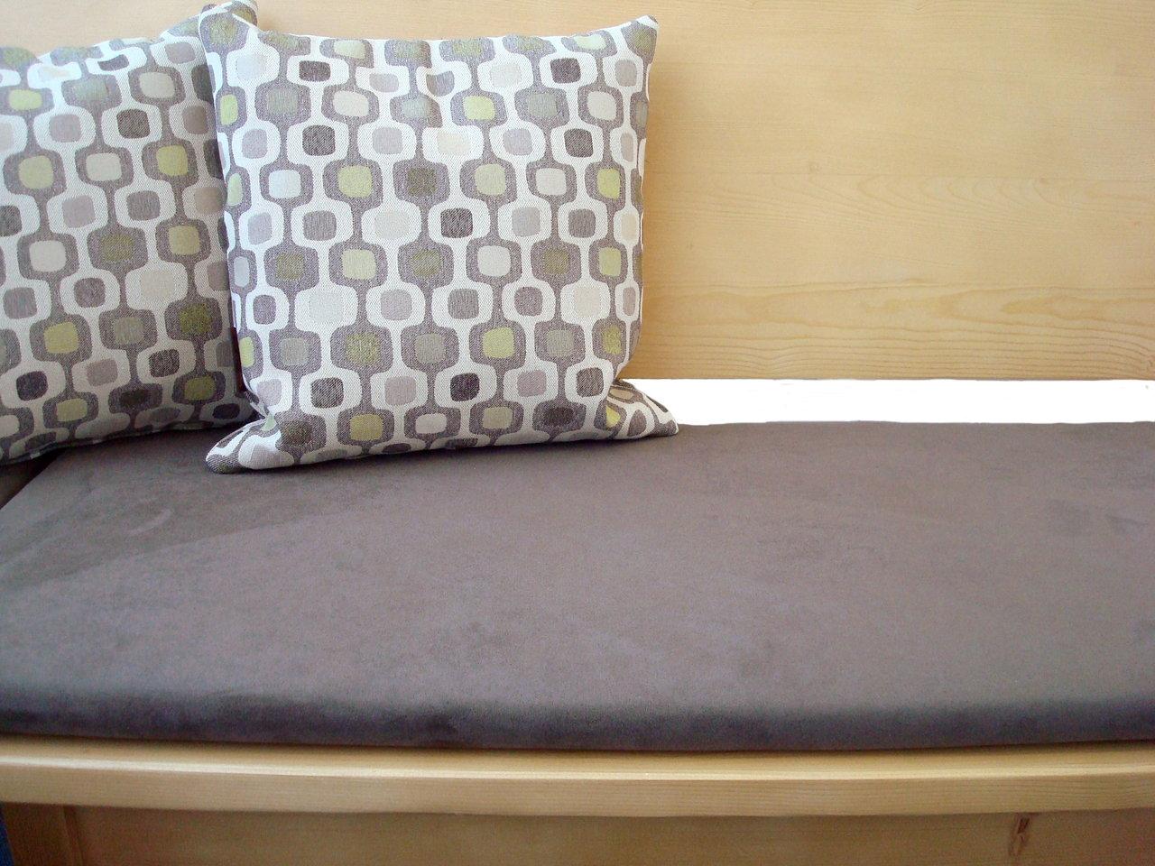 bankauflage 105 cm bequemer sitzen. Black Bedroom Furniture Sets. Home Design Ideas